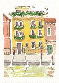 graphisme et illustration - Lausanne Lausanne, Graphic, Illustration, Art, Venice, Beauty, Art Background, Illustrations, Kunst