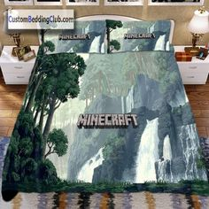 Minecraft Bedding, Bed Sheets & Covers , Forest Design https://custombeddingclub.com/collections/gaming-bed-set-gaming-merchandise/products/minecraft-bedding-bed-sheets-covers-forest-design  #minecraft #bedding #bed #set #pillowcase #pillow #bedroom #ideas #homedecor #gaming #blanket #duvetcover #duvet #merchandise #giftideas #gamer