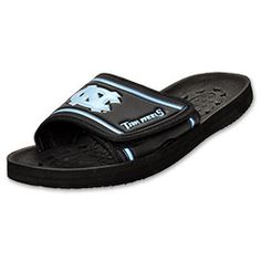 tarheels sandals!> whaat. can't get much better than that!