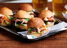 Pork belly banh mi paired with a delicious dark IPA. This recipe is a one-of-a-kind recipe to accompany a unique beer.