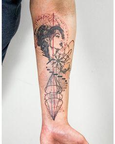 Best Geometric Tattoos And Symbolism Tattoos 3d, Love Tattoos, Unique Tattoos, Beautiful Tattoos, Body Art Tattoos, Tattoo Background, Elephant Tattoos, Piercing Tattoo, Tattoo Sketches