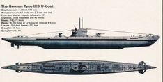 This is a German Unterseeboot or U-boat that the Germans wreaked havoc on Allied ships with. These U-boats destroyed tons and tons of supplies for the Allies.