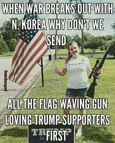 Trick question. They are cowards and won't go.