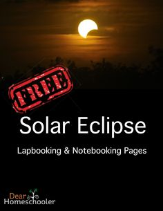 Dear Homeschooler, Whether you are doing a unit study or doing some educational preparation before viewing an actual solar eclipse, this lapbook will help aid and direct your learning.     I created this product with lapbooking and notebooking pages that you can tailor to fit your student's style of… Continue reading