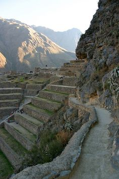 Fortezza di Ollantaytambo, Peru - AMAZING! Didn't explore it enough!