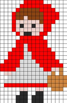 Little_Red_Riding_Hood By Ninie On Kandi Patterns