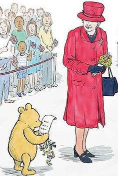 Everyone's favourite bear of very little brain will meet Her Majesty in a free illustrated ebook called Winnie the Pooh And The Royal Birthday