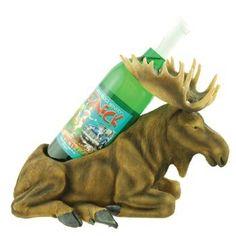 Graceful Moose Wine Bottle Holder Rack, Tabletop, 12-inch Reviews - OMJ Outdoors
