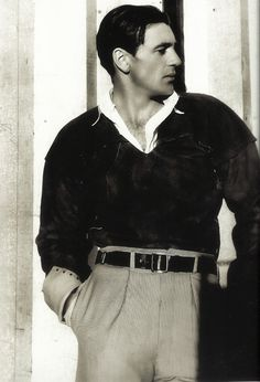 Gary Cooper photo Cecil Beaton