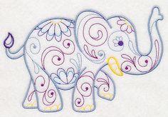 Trumpeting Elephant (Vintage)