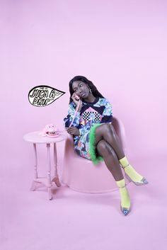 Phiney Pet AW14 - 'The Deptford Wives' Photographer - Agnes Kotwinska Styling - Kyanisha Morgan Hair/Make-Up - Scarlett Burton M...