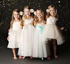 Darling Flower Girl Dresses {Fattie Pie}