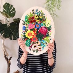 Embroidery by Jo Jiménez