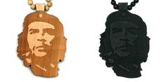 Wood Junkie Necklace Che Guevara - Urban Classics-Shop.nl