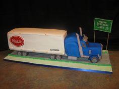 Peterbilt Tractor trailer (but make it a Mack)