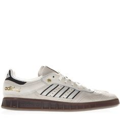 info for bc09e 6ef5a ADIDAS ORIGINALS HANDBALL TOP CREAM COLOR SUEDE SNEAKERS.  adidasoriginals   shoes