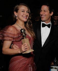 Joanna Newsom & Andy Samberg @ the Fox afterpartyPhotographed by Todd Williamson