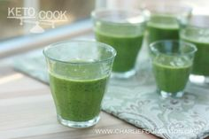Green Smoothie - keto adapted lifestyle