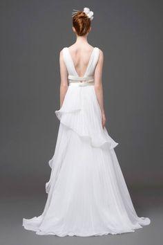 Vestiti da sposa schiena scoperta 2015 - Alberta Ferretti