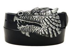 PASEK Skórzany Do Spodni Klamra SMOK DRAGON Cuff Bracelets, Dragon, Belt, Accessories, Jewelry, Belts, Jewlery, Bijoux, Schmuck