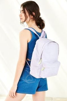 BDG Canvas Backpack Rucksack Bag, Zipper Bags, Canvas Backpack, School  Backpacks, Urban 9bbc3ba1d355