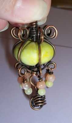 Lanterna Pendant Jewelry Tutorial PDF by 4petessake on Etsy