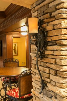See beautiful pictures of Tuscan style bedrooms. Select the desired option of Tuscan style bedrooms and do a redesign of its premises. Rustic Wall Sconces, Candle Wall Sconces, Tuscan Style Bedrooms, Wrought Iron Candle Holders, Traditional Family Rooms, World Decor, Tuscan Design, Tuscan House, Wine Decor