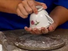 My Cup of Tea Gumpaste Teacup and Saucer Trailer - YouTube