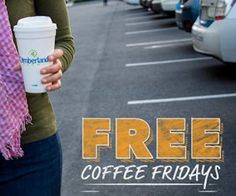Wow! It's Friday and that means Free coffee at Cumberland Farms!  Just pop down to your local Cumberland Farms location and get a Free coffee – hot or iced! Available from 5am – 10pm EDT. http://ifreesamples.com/free-coffee-cumberland-farms/
