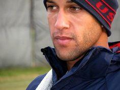 USA Soccer team goalie Tim Howard...Those lips and those eyes!