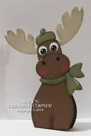 Image result for moose christmas pallett