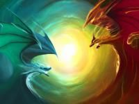 Are you the dangerous and fire-breathing Ruby dragon? Or maybe you& the calm and forest-dwelling earth dragon. There are 20 different and unique dragons you could be! Animated Wallpapers For Mobile, Widescreen Wallpaper, Blue Wallpapers, Mobile Wallpaper, Water Dragon, Fire Dragon, Dragon Art, Fantasy Kunst, Fantasy Art