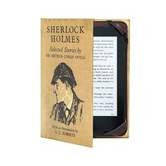 "Classic Book Cover Case for ALL 6"" Amazon kindle ereader including 2015 Paperwhite and Touch Screen - Sherlock Holmes KleverCase http://www.amazon.com/dp/B0108J8KNG/ref=cm_sw_r_pi_dp_AsB8wb0DR5K1A"