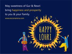 Escon Arena team wishes you a day full of dhamal and masti. Happy Lohri, North India, Lord Shiva, Bring It On, Shiva