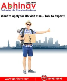 Want to Apply for US Visit Visa-Talk to expert!