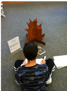 Halloween Library Centers