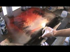Spray Paint Art Tutorial: Mountains and Nature