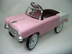 1955 CLASSIC SIDEWALK CRUISER RIDE-ON PEDAL CAR | PINK