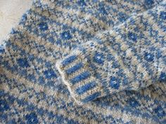"""When I was little, part of the daily """"uniform"""" usually consisted of some sort of woolly jumper, often fair isle and usually hand knitted by ..."""