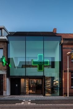 pharmacy VH | de pinte - Projects - CAAN Architecten / Gent