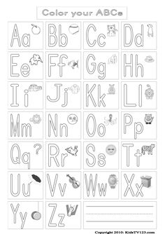 Small letters coloring printable page for kids alphabets for Learning planet alphabet coloring pages
