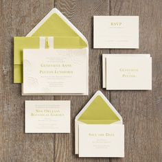 just keeping this in mind - not sure we want to use any color in our invitations but this chartreuse would be pretty as a belly band or potentially an envelope liner