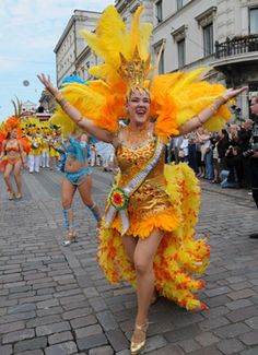 19th Samba Carnival held in Helsinku