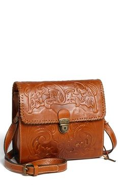 Free shipping and returns on Patricia Nash 'Dante' Crossbody Bag at Nordstrom.com. Lavish floral embossing heightens the artisanal charm of a compact crossbody bag shaped from rich, burnished leather.
