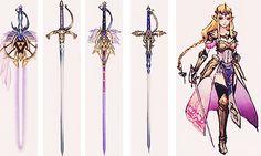 Zelda + Rapier concept