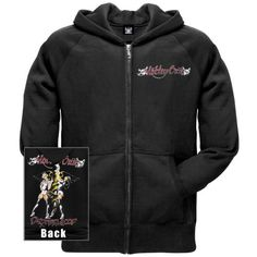 #MotleyCrue Hell on High Heels Zip Hoodie Available Via AMAZON:  http://amzn.to/1T46ifY  #90srock #rock