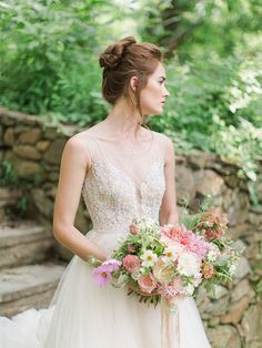 @watterswtoo Kaliah gown and Bella Belle Bridal Shoes