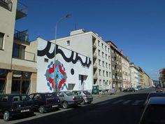 HITOTZUKI mural, Czech Republic