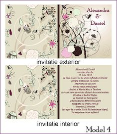 BebeStudio11.com - Invitatii Nunta si Botez: Invitatii Nunta Patrate Map, Model, Location Map, Scale Model, Peta, Models, Maps, Mockup