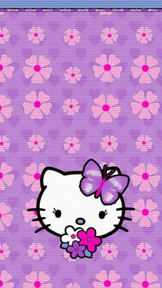 Hello Kitty Backgrounds, Hello Kitty Wallpaper, K Wallpaper, Cellphone Wallpaper, Art Sayings, Art Quotes, Melody Hello Kitty, Hello Kitty Pictures, Photo Background Images